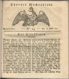 Thorner Wochenblatt 1820, Nro. 24