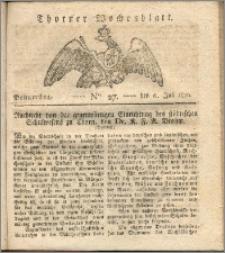 Thorner Wochenblatt 1820, Nro. 27