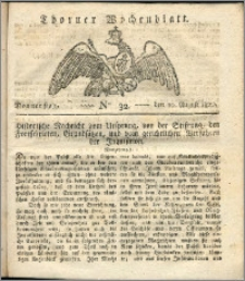 Thorner Wochenblatt 1820, Nro. 32