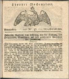 Thorner Wochenblatt 1820, Nro. 37