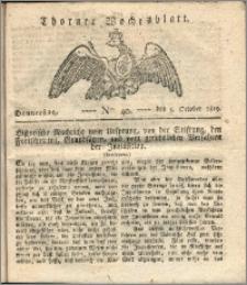 Thorner Wochenblatt 1820, Nro. 40