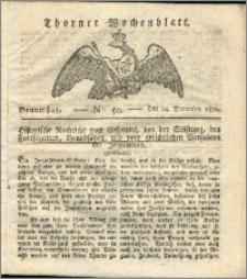 Thorner Wochenblatt 1820, Nro. 50