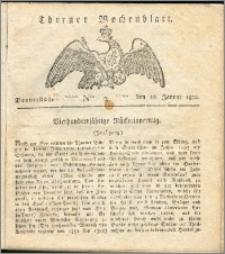 Thorner Wochenblatt 1822, Nro. 2