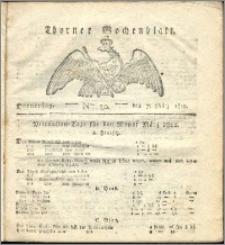 Thorner Wochenblatt 1822, Nro. 10