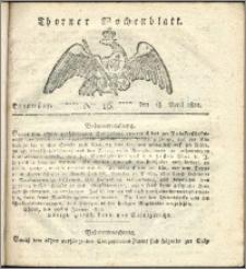 Thorner Wochenblatt 1822, Nro. 16