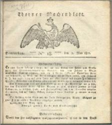 Thorner Wochenblatt 1822, Nro. 18