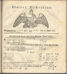 Thorner Wochenblatt 1822, Nro. 23