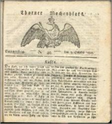 Thorner Wochenblatt 1822, Nro. 40