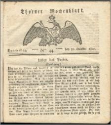 Thorner Wochenblatt 1822, Nro. 44