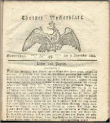 Thorner Wochenblatt 1822, Nro. 45