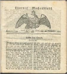 Thorner Wochenblatt 1822, Nro. 48