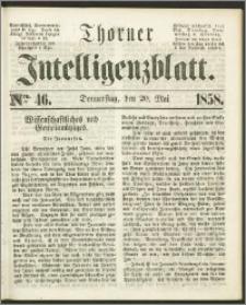 Thorner Intelligenzblatt 1858, Nro. 46