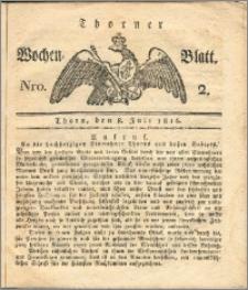 Thorner Wochen-Blatt 1816, Nro. 2