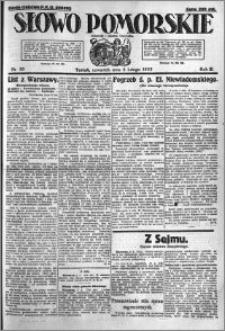 Słowo Pomorskie 1923.02.08 R.3 nr 30