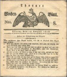 Thorner Wochen-Blatt 1816, Nro. 8