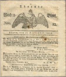 Thorner Wochen-Blatt 1816, Nro. 12
