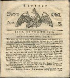 Thorner Wochen-Blatt 1816, Nro. 15