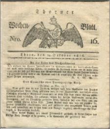 Thorner Wochen-Blatt 1816, Nro. 16