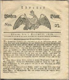Thorner Wochen-Blatt 1816, Nro. 23
