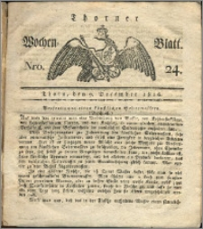 Thorner Wochen-Blatt 1816, Nro. 24