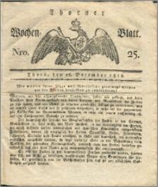 Thorner Wochen-Blatt 1816, Nro. 25