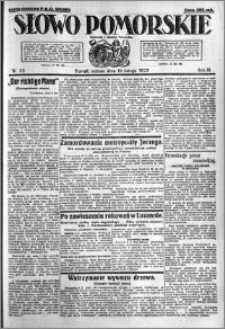 Słowo Pomorskie 1923.02.10 R.3 nr 32