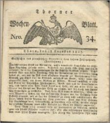 Thorner Wochen-Blatt 1817, Nro. 34