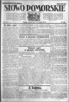 Słowo Pomorskie 1923.02.13 R.3 nr 34