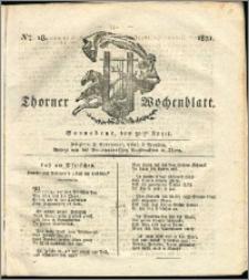 Thorner Wochenblatt 1831, Nro. 18 + Intelligenz Nachrichten, Beilage