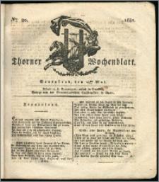 Thorner Wochenblatt 1831, Nro. 20 + Intelligenz Nachrichten