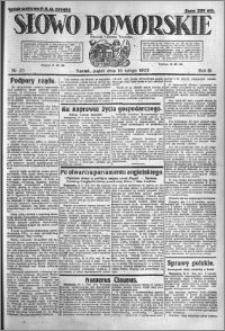 Słowo Pomorskie 1923.02.16 R.3 nr 37