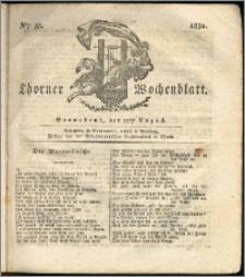 Thorner Wochenblatt 1831, Nro. 35 + Intelligenz Nachrichten