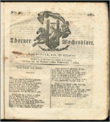 Thorner Wochenblatt 1831, Nro. 40 + Intelligenz Nachrichten