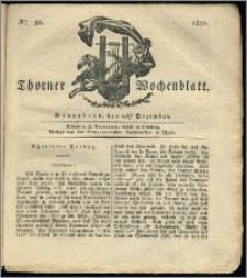Thorner Wochenblatt 1831, Nro. 50 + Intelligenz Nachrichten