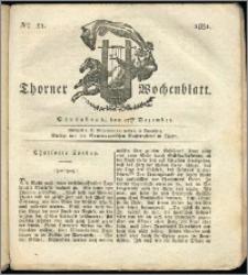 Thorner Wochenblatt 1831, Nro. 51 + Intelligenz Nachrichten, Beilage