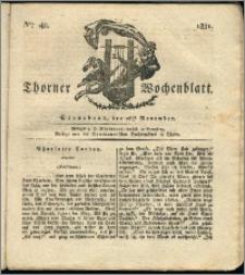 Thorner Wochenblatt 1831, Nro. 48 + Intelligenz Nachrichten