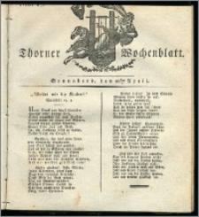 Thorner Wochenblatt 1832, Nro. 17 + Intelligenz Nachrichten