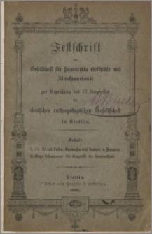Hexenwesen und Zauberei in Pommern