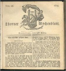 Thorner Wochenblatt 1834, Nro. 13 + Beilage