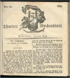 Thorner Wochenblatt 1834, Nro. 20 + Beilage
