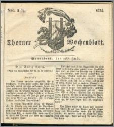 Thorner Wochenblatt 1834, Nro. 30