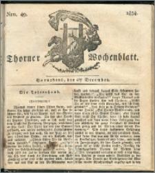 Thorner Wochenblatt 1834, Nro. 49