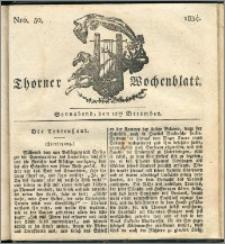 Thorner Wochenblatt 1834, Nro. 50