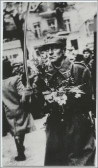 Portret żołnierza oddziałów Ludowego Wojska Polskiego wkraczających do Torunia w 1945 roku