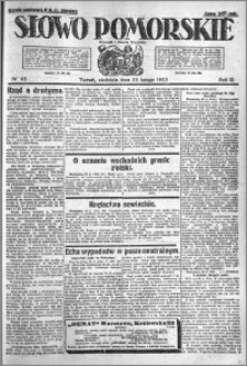 Słowo Pomorskie 1923.02.25 R.3 nr 45