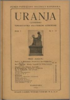 Uranja 1922, R. 1 nr 3/4