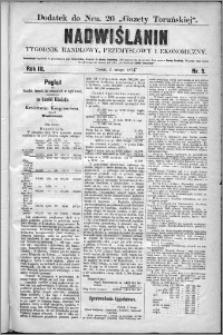 Nadwiślanin : tygodnik handlowy, przemysłowy i ekonomiczny 1875, R. 3 nr 5