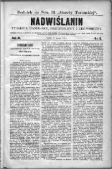 Nadwiślanin : tygodnik handlowy, przemysłowy i ekonomiczny 1875, R. 3 nr 6