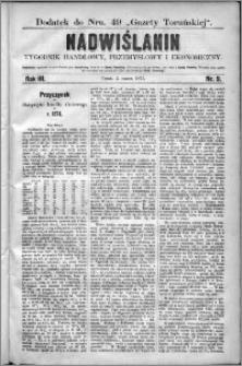 Nadwiślanin : tygodnik handlowy, przemysłowy i ekonomiczny 1875, R. 3 nr 9
