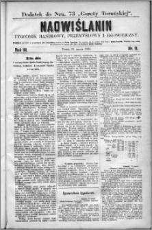 Nadwiślanin : tygodnik handlowy, przemysłowy i ekonomiczny 1875, R. 3 nr 11